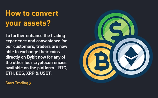 ByBit - Cryptocurrency trading platform