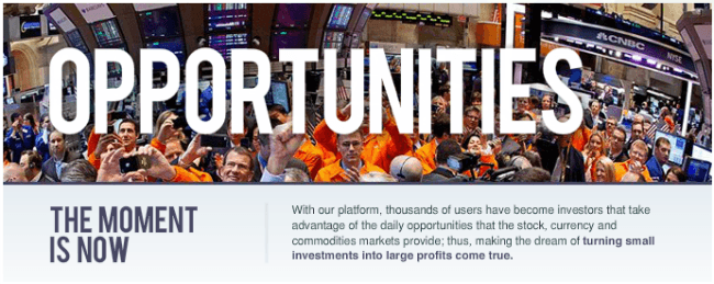 Binary Options trading platforms banner