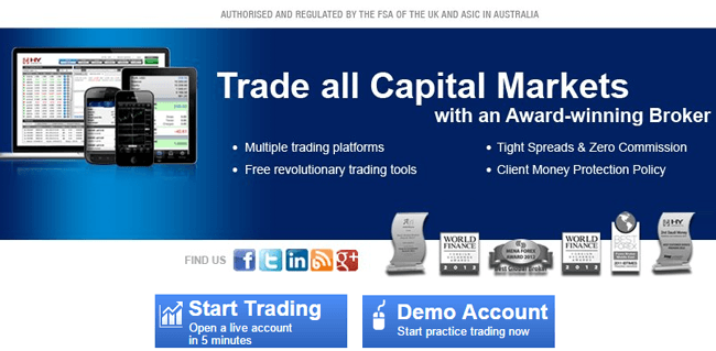 Hy Markets - Online Forex and commodities trading platform