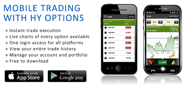 HYOptions - Online Binary Trading Platform
