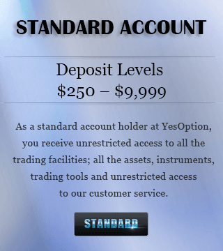 Yes Option - Binary options and Forex on one platform