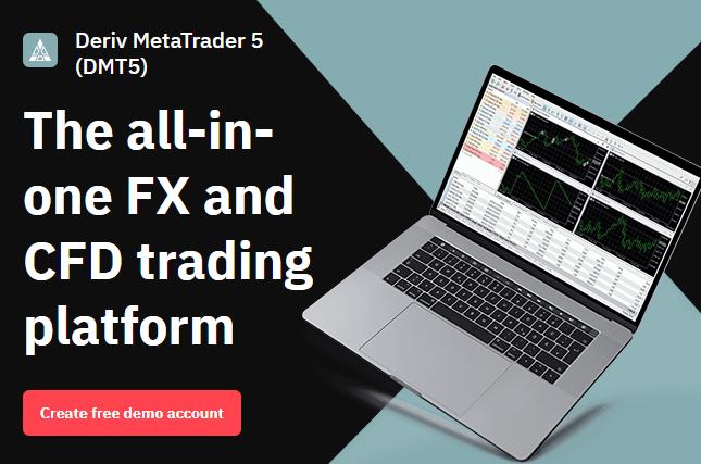 Deriv.com - Online forex trading platform